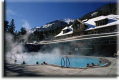 Banff Upper Hot Springs, Альберта, Канада