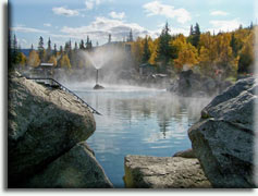 Chena Hot Springs, Фэрбенкс, Аляска, США