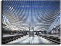 Лучший терминал: Liège-Guillemins High-Speed Railway Station, Льеж, Бельгия
