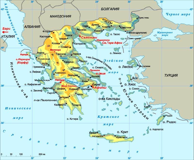 Вилла мария елена греция